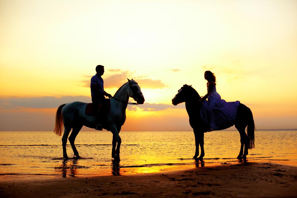 horseback riding puerto vallarta sunset